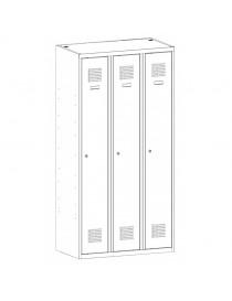 Szafa aktowa z drzwiami chowanymi SBM 210. Wymiary ( wys x szer x gł ) : 1990 x 1000 x 435
