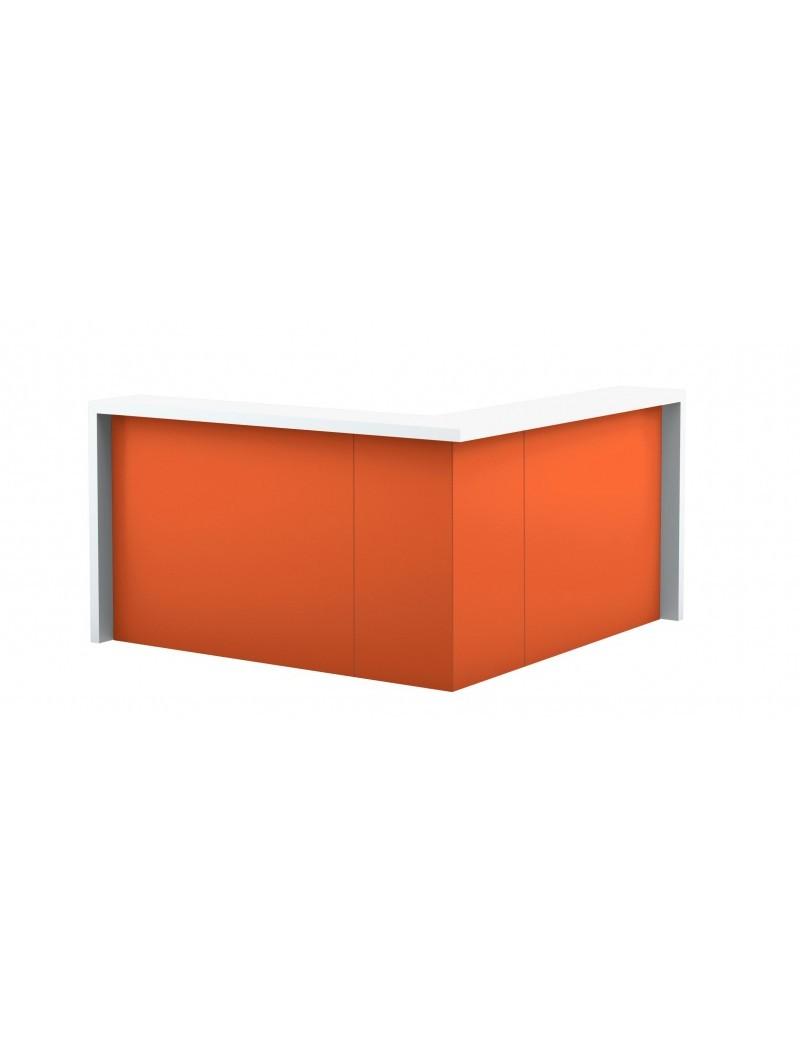 Biurko gabinetowe / biurowe ECHO EC16. Wymiary w mm (szer x gł x wys): 1600 x 800 x 758
