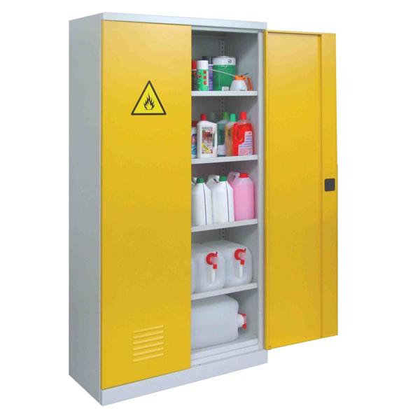 Szafy do przechowywania środków chemicznych