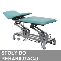 Stoły rehabilitacyjne, meble medyczne