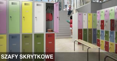 Szafy socjalne, meble socjalne, szafy metalowe