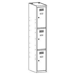 Szafa socjalna, szafa do szatni, szafa metalowa, meble metalowe, szafy metalowe, SUS 313 W st