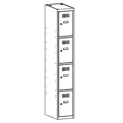 Szafa socjalna, szafa do szatni, szafa metalowa, meble metalowe, szafy metalowe, SUS 314 W st