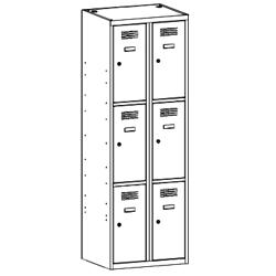 Szafa socjalna, szafa do szatni, szafa metalowa, meble metalowe, szafy metalowe, SUS 323 W st