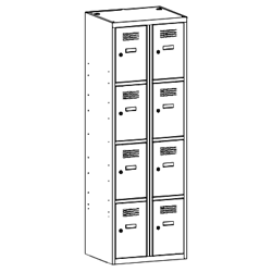 Szafa socjalna, szafa do szatni, szafa metalowa, meble metalowe, szafy metalowe, SUS 324 W st