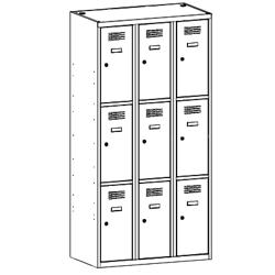 Szafa socjalna, szafa do szatni, szafa metalowa, meble metalowe, szafy metalowe, SUS 333 W st