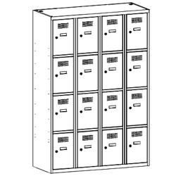 Szafa socjalna, szafa do szatni, szafa metalowa, meble metalowe, szafy metalowe, SUS 344 W st