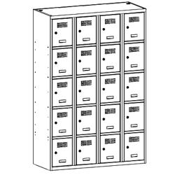 Szafa socjalna, szafa do szatni, szafa metalowa, meble metalowe, szafy metalowe, SUS 345 W st