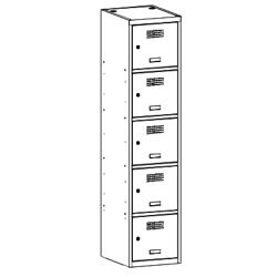 Szafa socjalna, szafa do szatni, szafa metalowa, meble metalowe, szafy metalowe, SUS 415 W st
