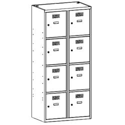 Szafa socjalna, szafa do szatni, szafa metalowa, meble metalowe, szafy metalowe, SUS 424 W st