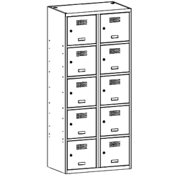 Szafa socjalna, szafa do szatni, szafa metalowa, meble metalowe, szafy metalowe, SUS 425 W st