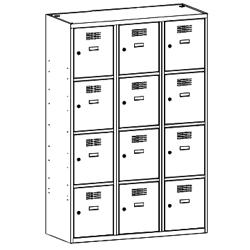 Szafa socjalna, szafa do szatni, szafa metalowa, meble metalowe, szafy metalowe, SUS 434 W st