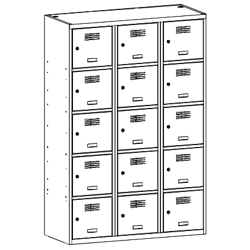 Szafa socjalna, szafa do szatni, szafa metalowa, meble metalowe, szafy metalowe, SUS 435 W st