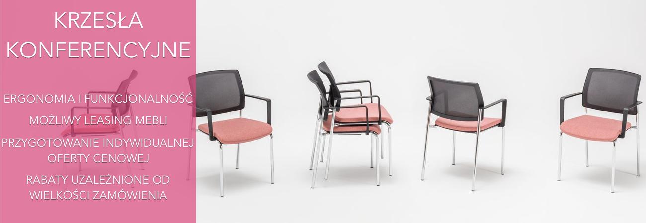 Krzesła konferencyjne w dobrej cenie