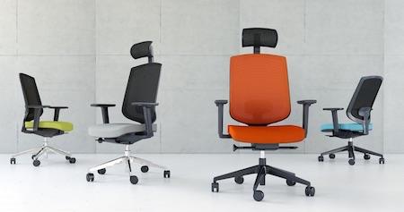 Krzesła biurowe, fotele obrotowe