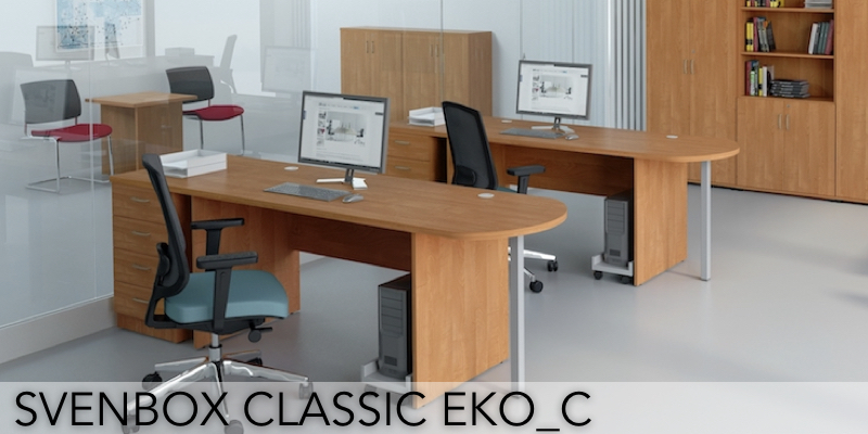 Meble biurowe Svenbox Classic EKO_C