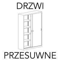 Szafy aktowe z drzwiami przesuwnymi