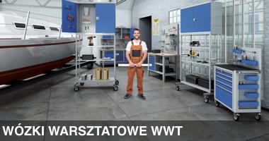 Wózki warsztatowe WWT, meble warsztatowe
