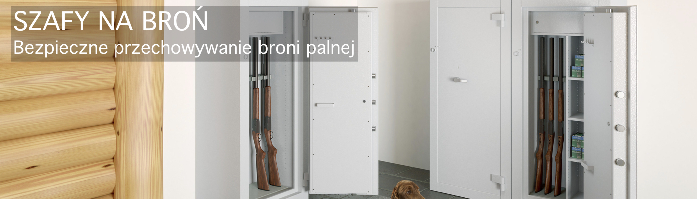 Szafy do przechowywania broni palnej