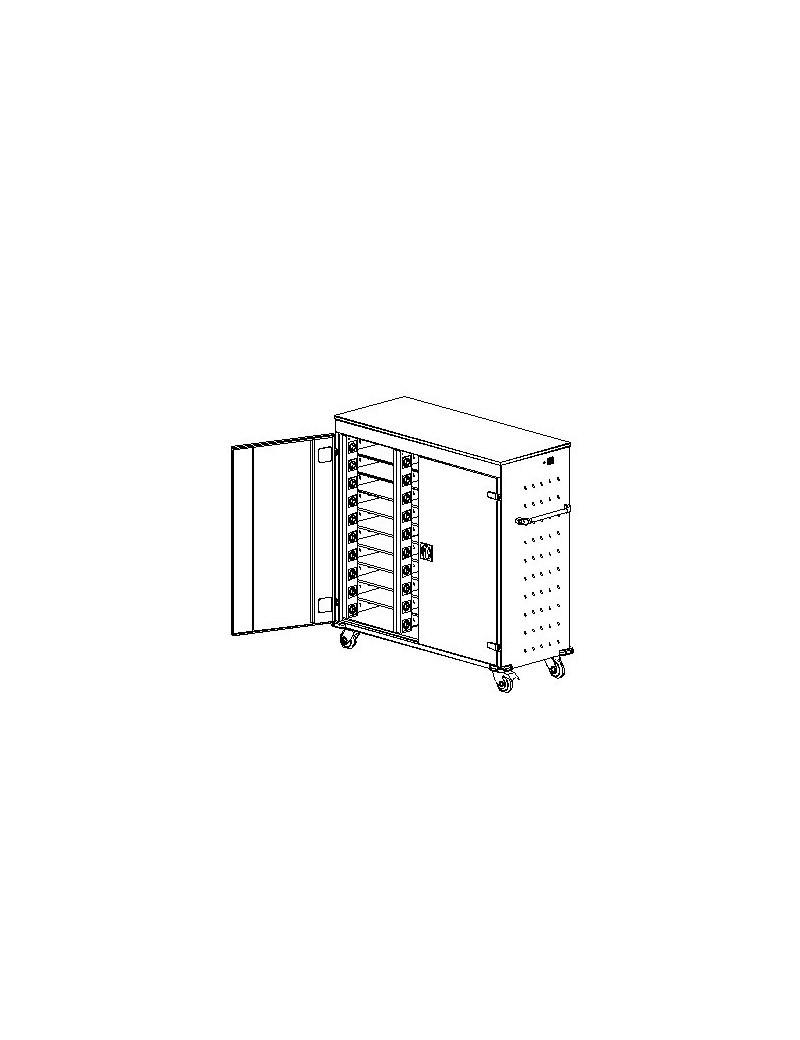 Biurko Svenbox Invest VIK_I VBM071 - Wymiary w mm (wys x szer x gł): 755 x 1160 x 700
