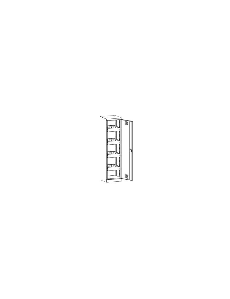 Stół biurowy Stb 1280. Wymiary w mm (wys x szer x gł): 745-770 x 1200 x 800