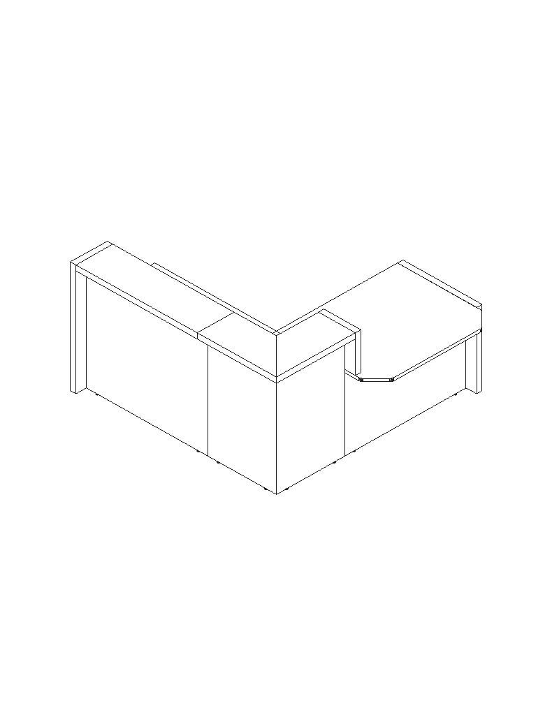 Biurko i kontenerek STB1460_Z1. Szerokość 1400 mm, głębokość 600 mm