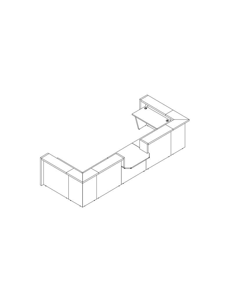 Regał metalowy magazynowy RMM 306 - 3 półki