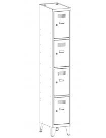 Szafa 4-skrytkowa SUS 314 W...