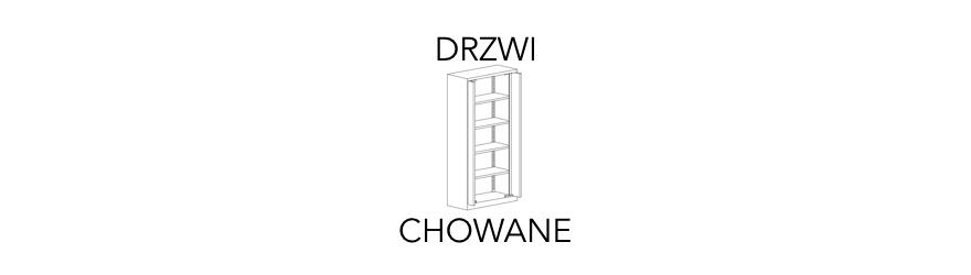 Szafy aktowe z drzwiami chowanymi