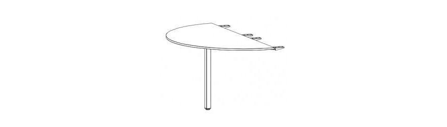 Łączniki i przystawki do stołów biurowych