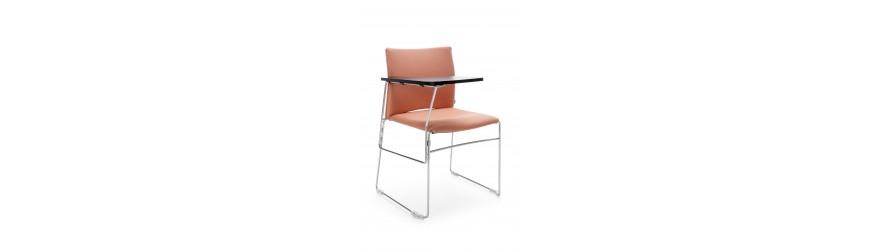 Krzesła z rozkładanym pulpitem - polinskimeble.pl