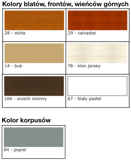 kolory mebli svenbox
