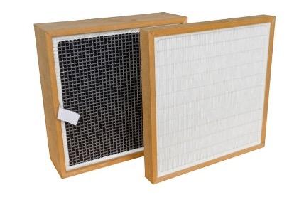 Filtr z węglem aktywnym i filtr wstępny pyłu do przystawki powietrza obiegowego EBEL: VENT-EN-U