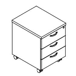 kontenerek do biurka svenbox