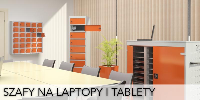 Szafy metalowe na laptopy, do przechowywania laptopów